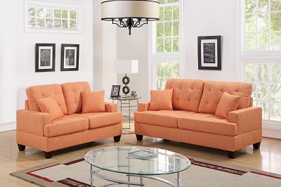 2 Pcs Promotional  Sofa set - color option