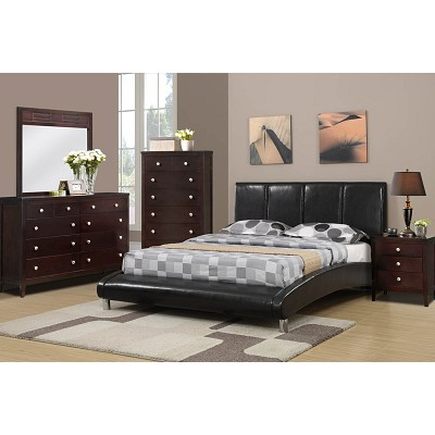 Luxurious Architecture Upholstered Queen Bed Frame