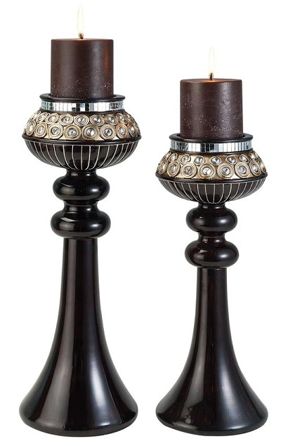 2 Pcs Candle Holder Set