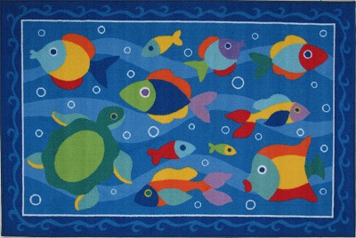 Something' Fishy Children's Rug