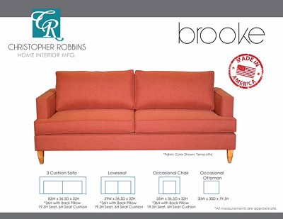 Brooke Sofa Collection