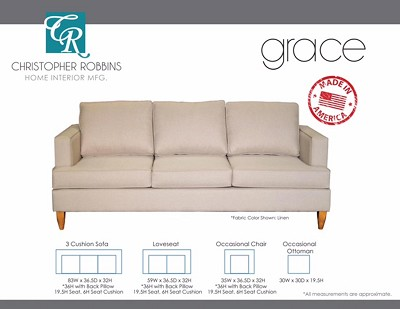 Grace Sofa Collection