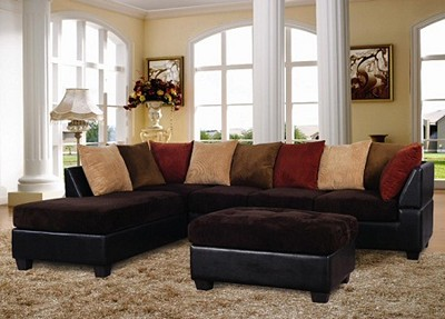 Multi Color Sectional