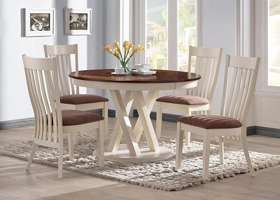 5 Pcs Country Style Dining Set