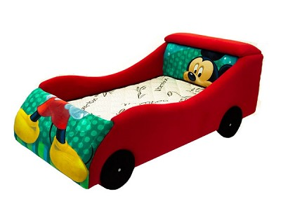 Boy's Character Car Bed Frame